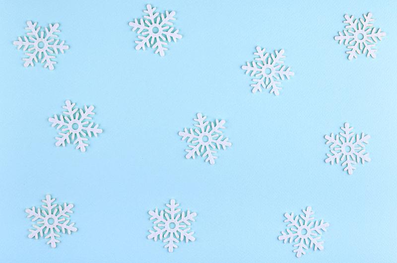 背景,在上面,概念,雪花,看风景,平铺,新年前夕,庆祝,构图