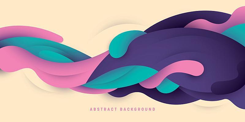 背景,液体,抽象,技术,模板,现代,艺术品,想法,绘画插图,未来