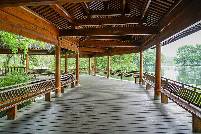 古典风格,苏州园林,篱笆,公园,艺术,水平画幅,无人,传统,符号,古老的