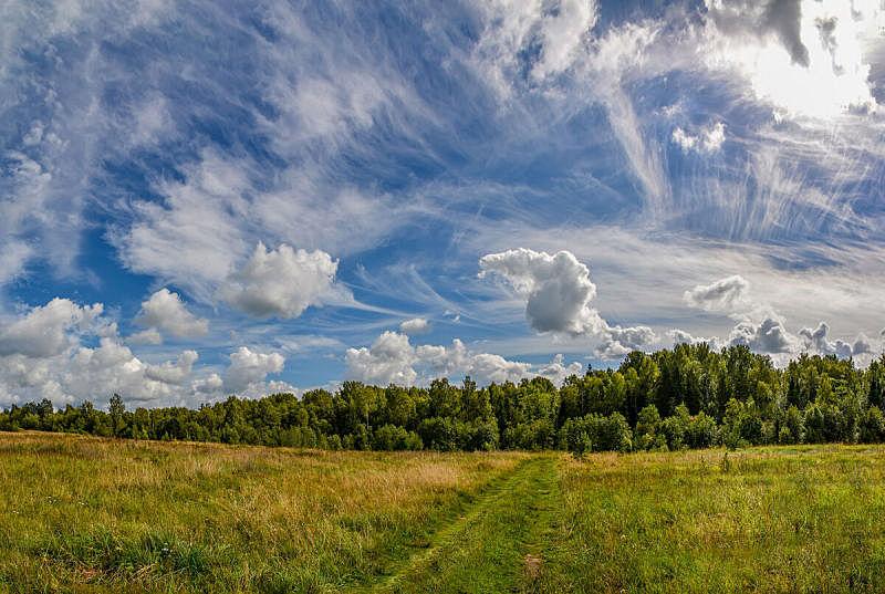 天空,云,夏天,地形,八月,最后,美,水平画幅,无人,太空