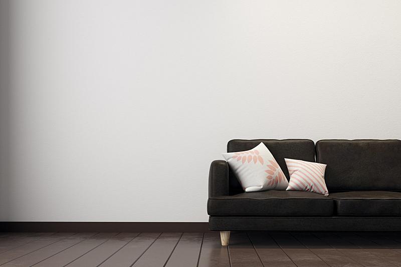 起居室,混凝土,留白,水平画幅,无人,砖墙,家庭生活,家具,俄罗斯,沙发