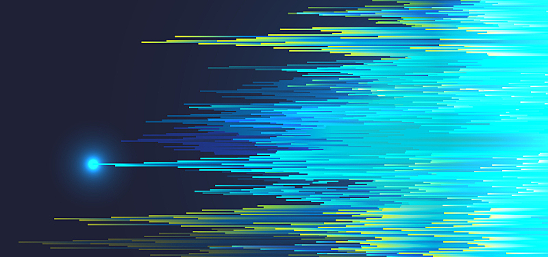 Pixel rain fall abstract background
