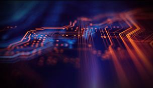 技术,橙色,蓝色,背景聚焦,母板,电路板,超文本链接标示语言,中央处理器,编码,电脑芯片