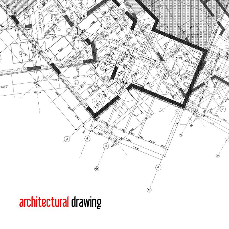 建筑,背景,住宅房间,式样,形状,蓝色,绘画插图,蓝图,抽象,计算机制图