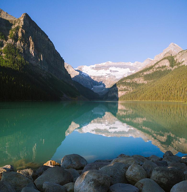 洛矶山脉,黎明,加拿大,露易斯湖,白昼,太阳,冰原大道,划独木舟,班夫,主干路