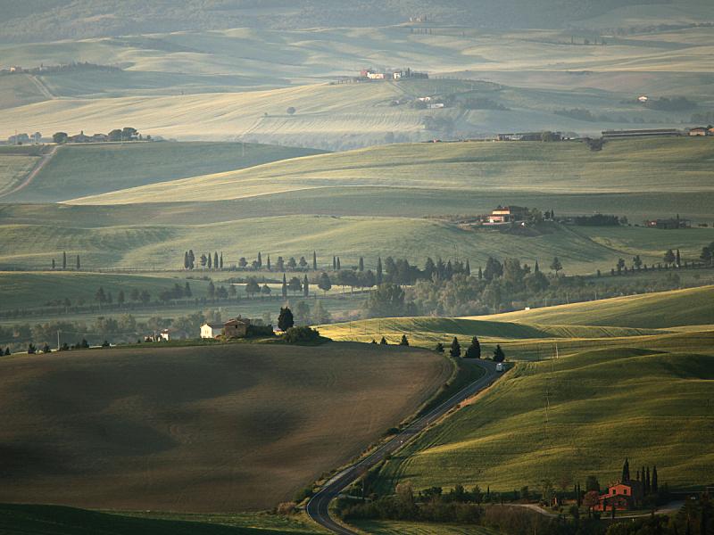 早晨,皮恩札,地形,选择对焦,美,水平画幅,山,无人,夏天,户外