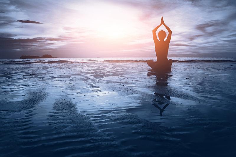 灵性,背景聚焦,水,天空,脑部,健康,完美,仅成年人,运动