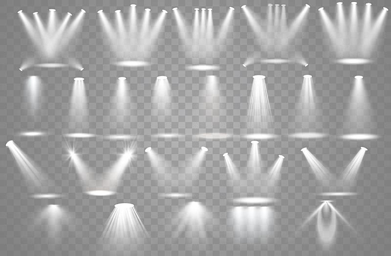 聚光灯,矢量,空的,流行音乐会,领奖台,背景,绘画插图,科学,图像特效,古典音乐会