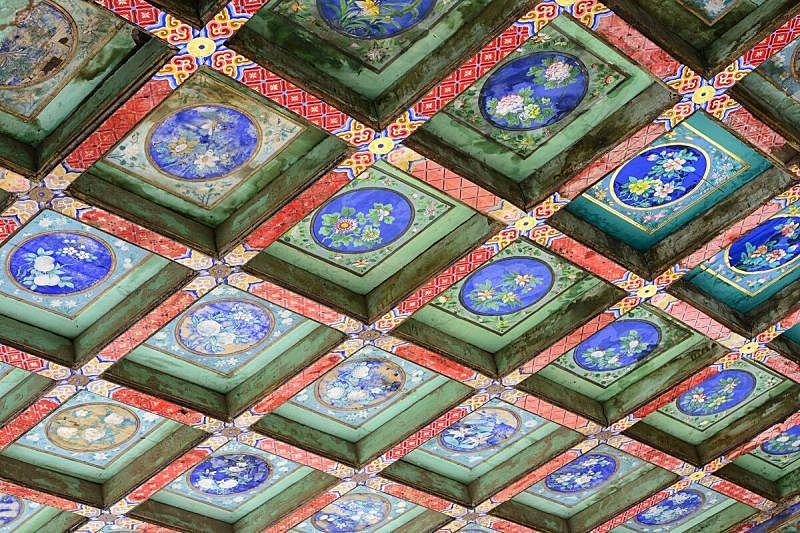 故宫,天花板,高雅,技能,美,旅游目的地,水平画幅,建筑,无人,北京