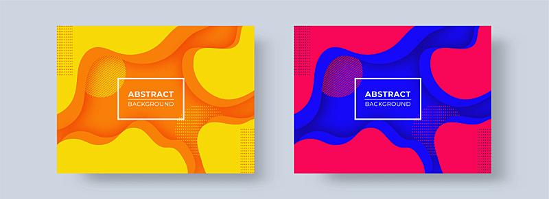 式样,背景,抽象,彩色图片,模板,两个物体,选择键,形状,红色,蓝色