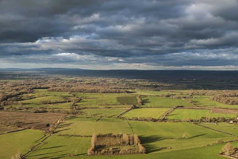 秋天,英格兰,南丘,地形,白昼,自然美,光,自然,季节,云