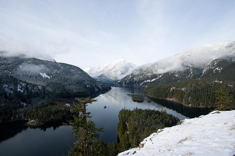 湖,宽的,华特康县,自然,水,天空,寒冷,宁静,水平画幅,地形