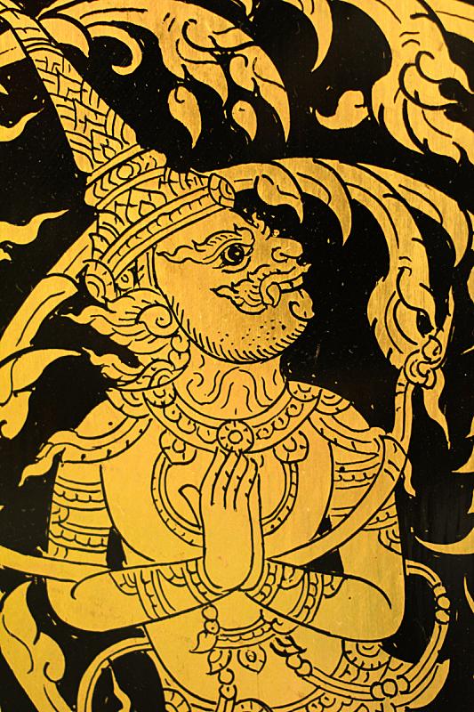 绘画作品,黑色,黄色,巨大的,垂直画幅,符号,泰国,人的眼睛,名声,人的脸部