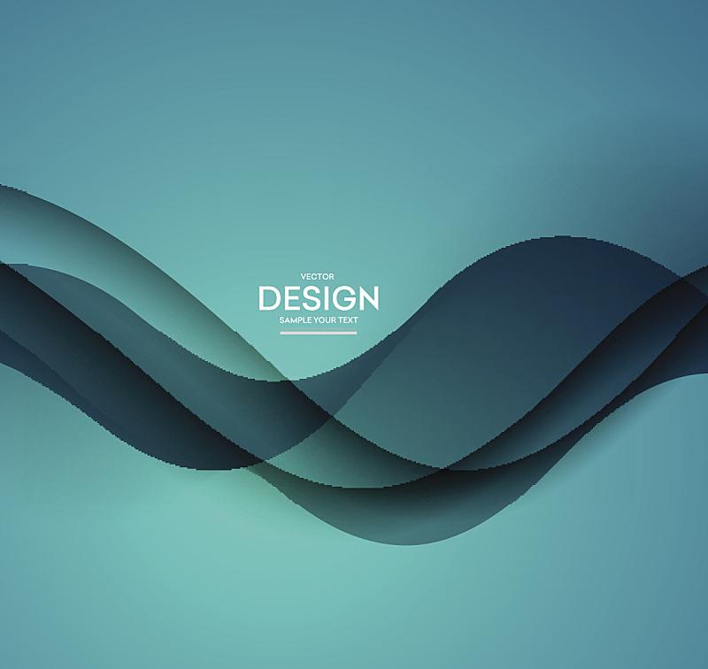背景,矢量,蓝色,抽象,活力,商务,线条,计划书,弯曲,行动