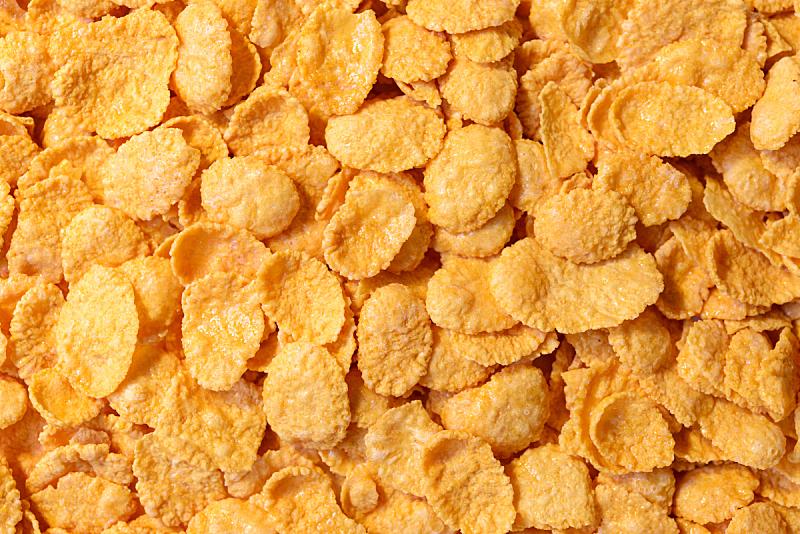 玉米,什锦烤燕麦片,早餐,清新,水平画幅,素食,膳食,干的,麦片,吃