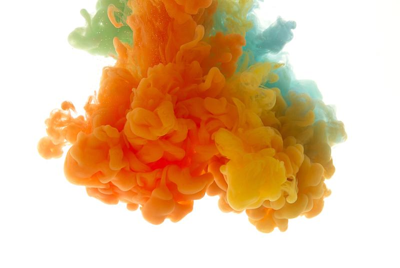 形状,墨水,漩涡形,式样,抽象,液体,行动,落下,涉水