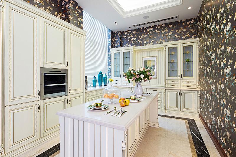 华贵,厨房,室内,不锈钢,地板,炊具,水槽,现代,钢铁,装饰物