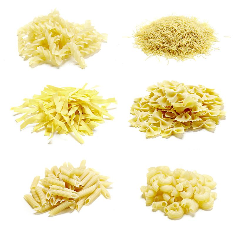 生食,特写,意大利面,纹理效果,素食,烘焙糕点,膳食,干的,白色,烹调