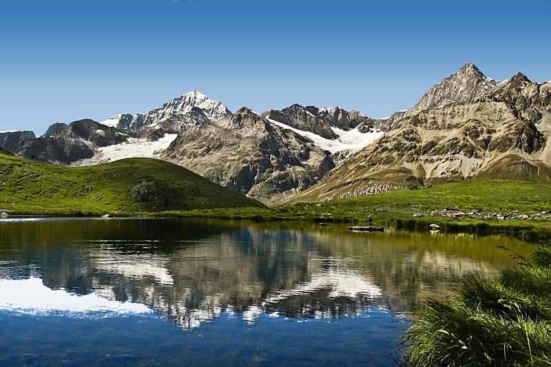 湖,阿尔卑斯山脉,水,公园,水平画幅,雪,无人,旅行者,户外,非凡的