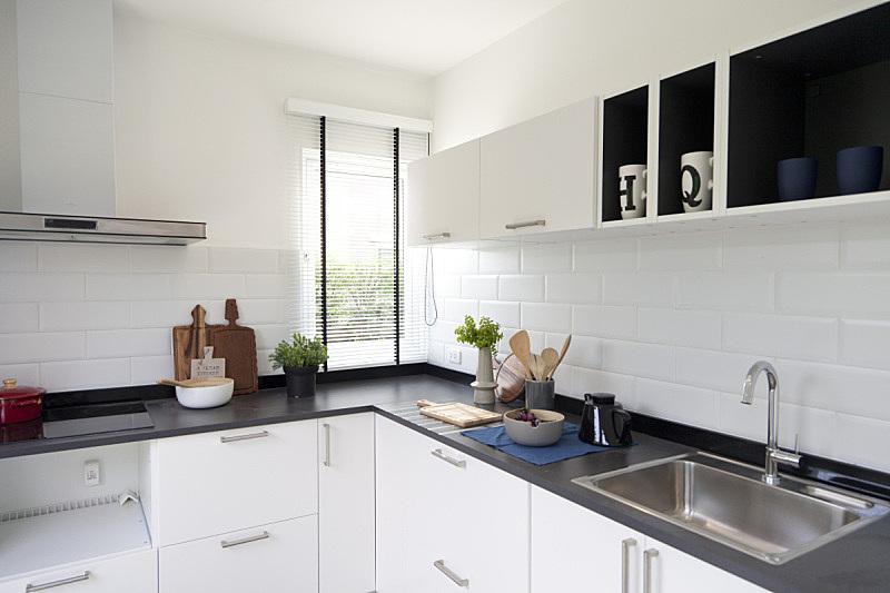 现代,住宅内部,厨房,模仿动物,新的,水平画幅,无人,家具,泰国,水槽
