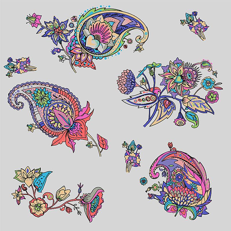 螺旋花纹呢,便盆,香瓜茄,起源,花窗格,印度教,印度,瓷砖,古董,眼泪