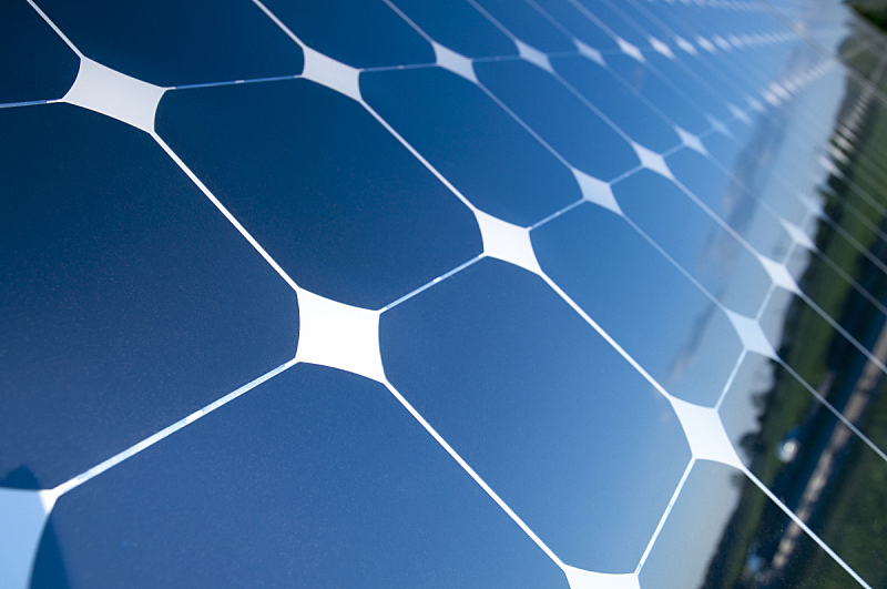 太阳能电池板,天空,水平画幅,能源,无人,蓝色,太阳,电源,工业,概念