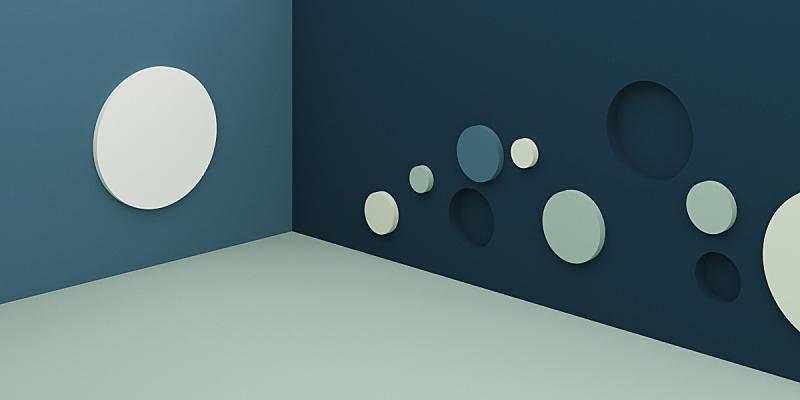 形状,几何形状,三维图形,圆形,抽象,极简构图,背景,特写,台阶,洞