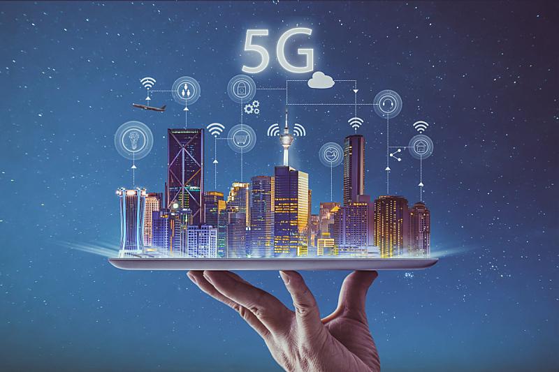 平板电脑,无线技术,手牵手,男招待,平衡折角灯,5g,智慧城市,空的,物联网,沟通
