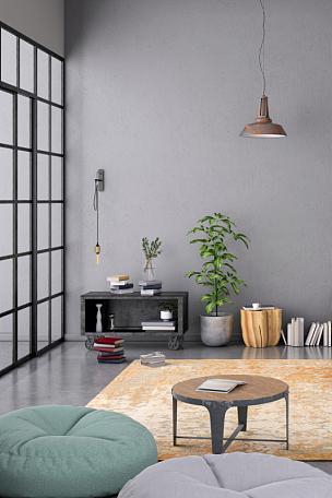 围墙,极简构图,留白,卧室,空白的,室内,纽约,舒服,厚木板,模板