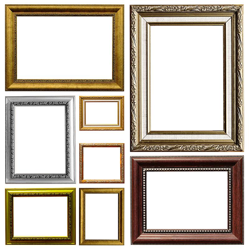古董,边框,白色背景,多样,留白,art deco风格,古老的,古典式,巴洛克风格,图像