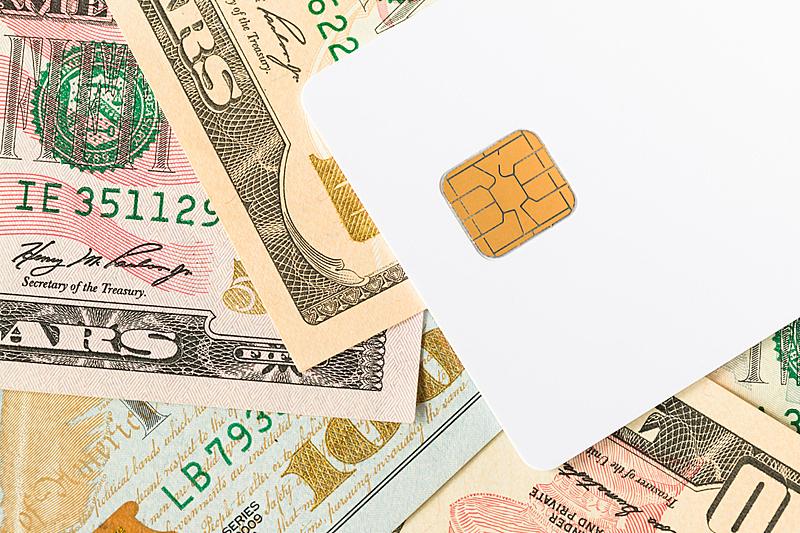 白色,空白的,智能卡,商务,安全,贺卡,空的,塑胶,技术,电子行业