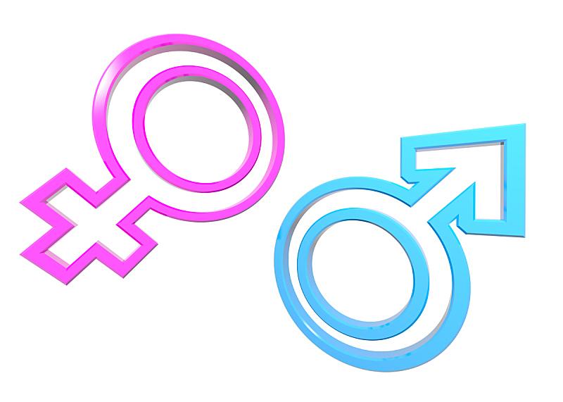 性别标志,女人,水平画幅,符号,性别,男人,白色背景,成年的,双亲家庭,两个物体