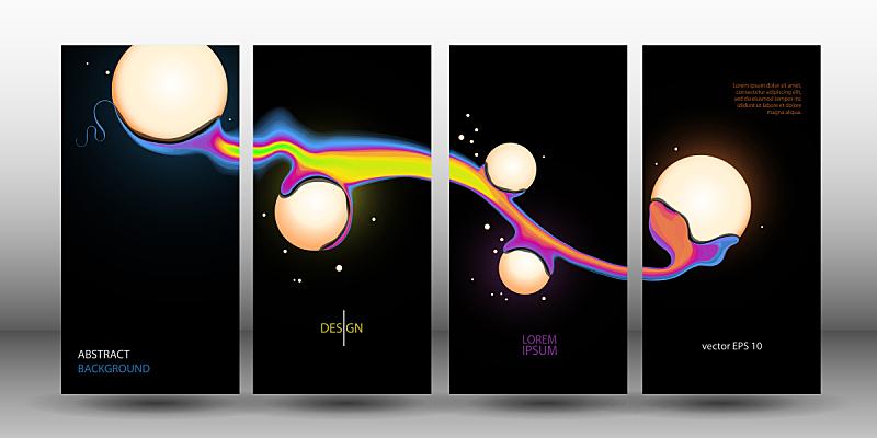 球,矢量,抽象,数字10,背景,未来,艺术,灯笼,水平画幅
