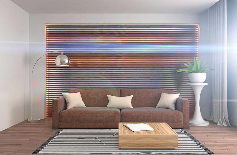 沙发,室内,绘画插图,三维图形,褐色,座位,水平画幅,无人,家具,俄罗斯