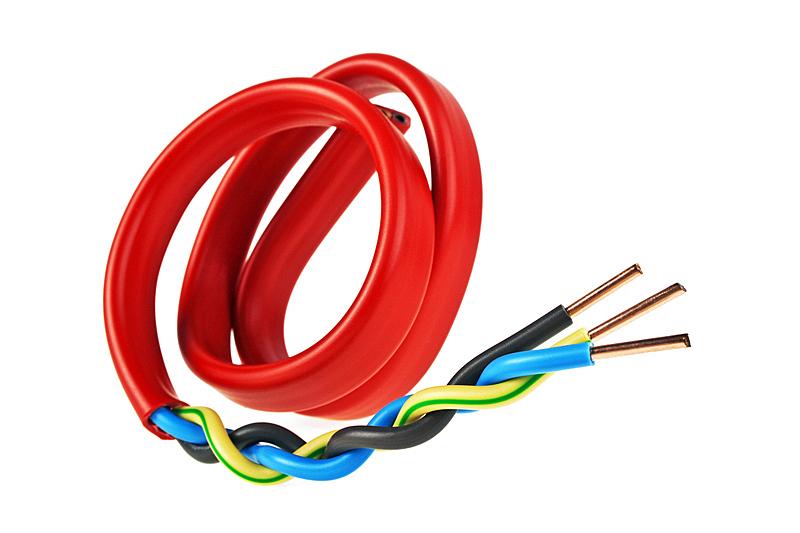特写,白色背景,电力电缆,电缆,褐色,建筑承包商,绝缘体,水平画幅,蓝色,乌克兰