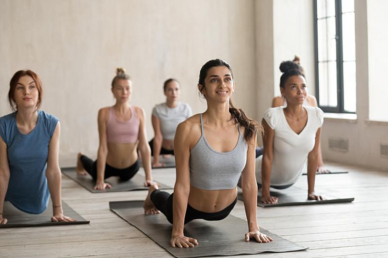瑜伽,单色图片,女人,运动,有氧运动法,弹性,健康,瑜珈,动机,业余爱好