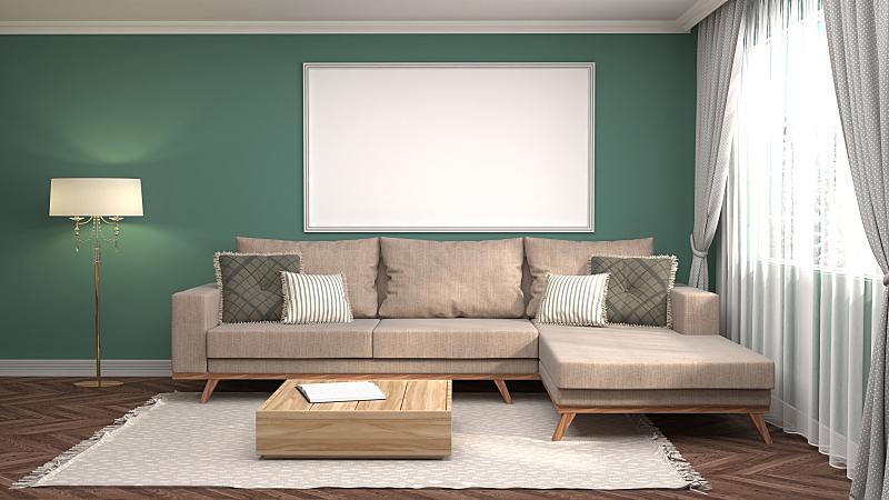 三维图形,轻蔑的,绘画插图,背景聚焦,边框,住宅房间,式样,水平画幅,形状