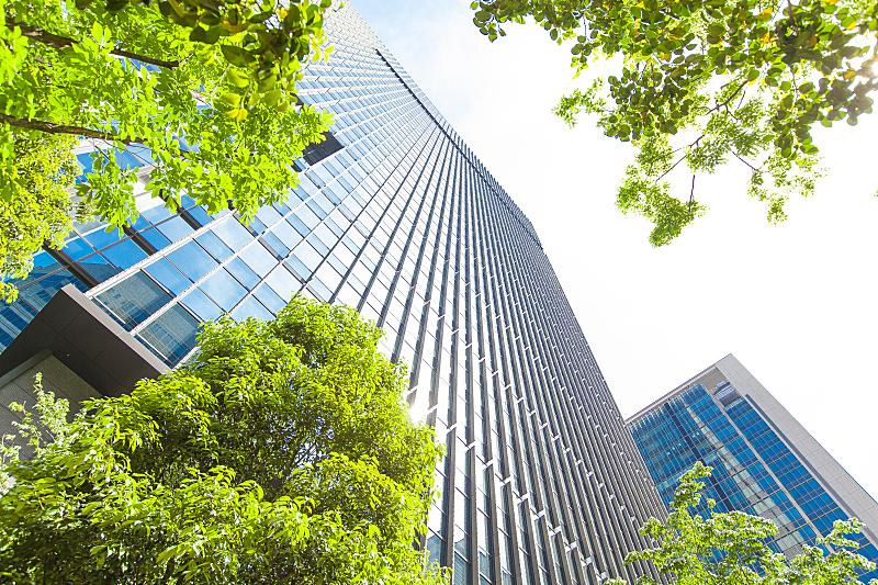 绿色,叶子,塔,商务,可持续资源,办公楼外观,环境保护,丸之内,建筑外部,办公室