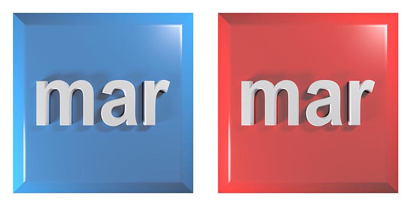 三维图形,绘画插图,按键区,蓝色,红色,正方形,月,计算机软件,标签,按钮