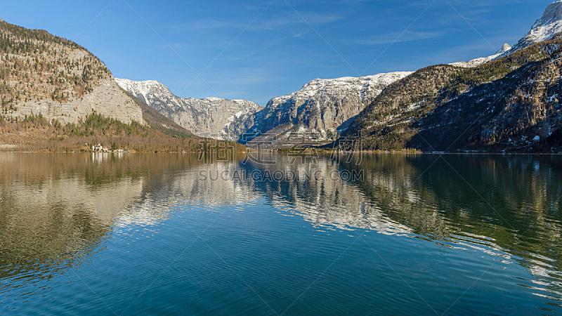 哈尔施塔特湖,奥地利,国内著名景点,旅途,哈尔施塔特,云,池塘,著名景点,湖,夏天