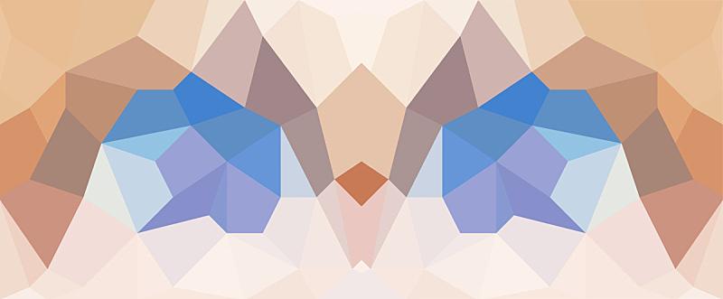 几何形状,背景,动物眼睛,鹰,纹理效果,式样,水平画幅,形状,无人,蓝色
