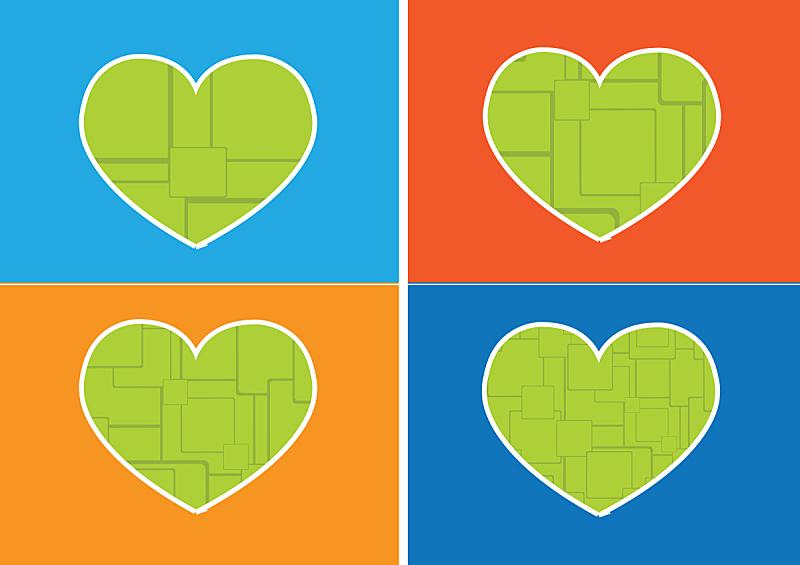 符号,计算机图标,式样,想法,动物心脏,条纹,水平画幅,形状,蓝色,绘画插图