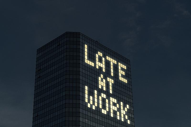 紧迫,夜晚,疲劳的,窗户,钟面,任务清单,加班,夸张,工作,照亮