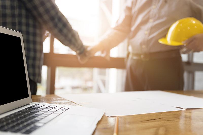 工程师,商务,窗户,建筑师,办公室,笔记本电脑,建筑承包商,水平画幅,兼并和收购,会议