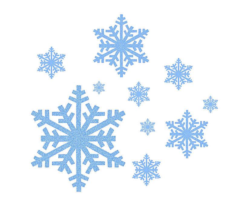 雪花,蓝色,计算机图标,水,水平画幅,形状,雪,无人,轻的