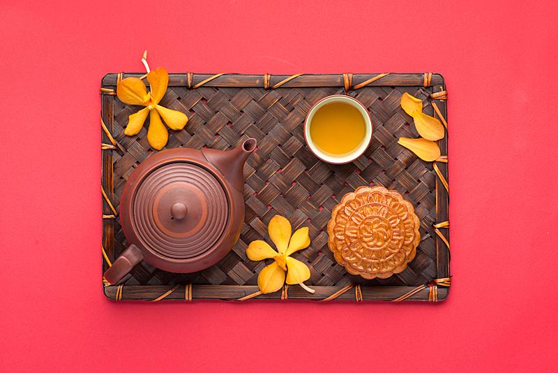茶,月饼,杰温传统高球赛,月球,莲藕,肉馅饼,行星月亮,美味馅饼,月亮,音乐节