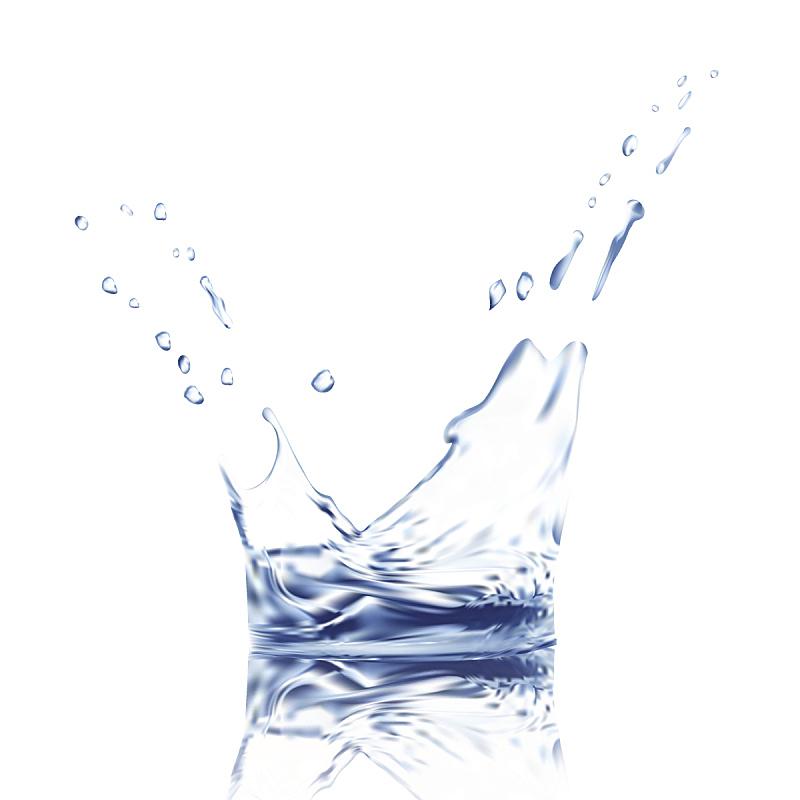 饮用水,水面,水滴,三维图形,绘画插图,矢量,背景,分离着色,溅,反射