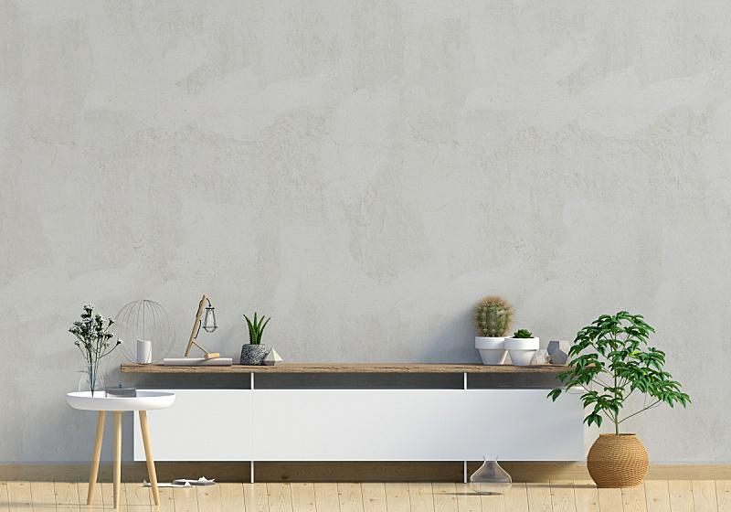 绘画插图,斯堪的纳维亚半岛,现代,高雅,墙,正下方视角,三维图形,室内设计师,轻蔑的,白灰泥