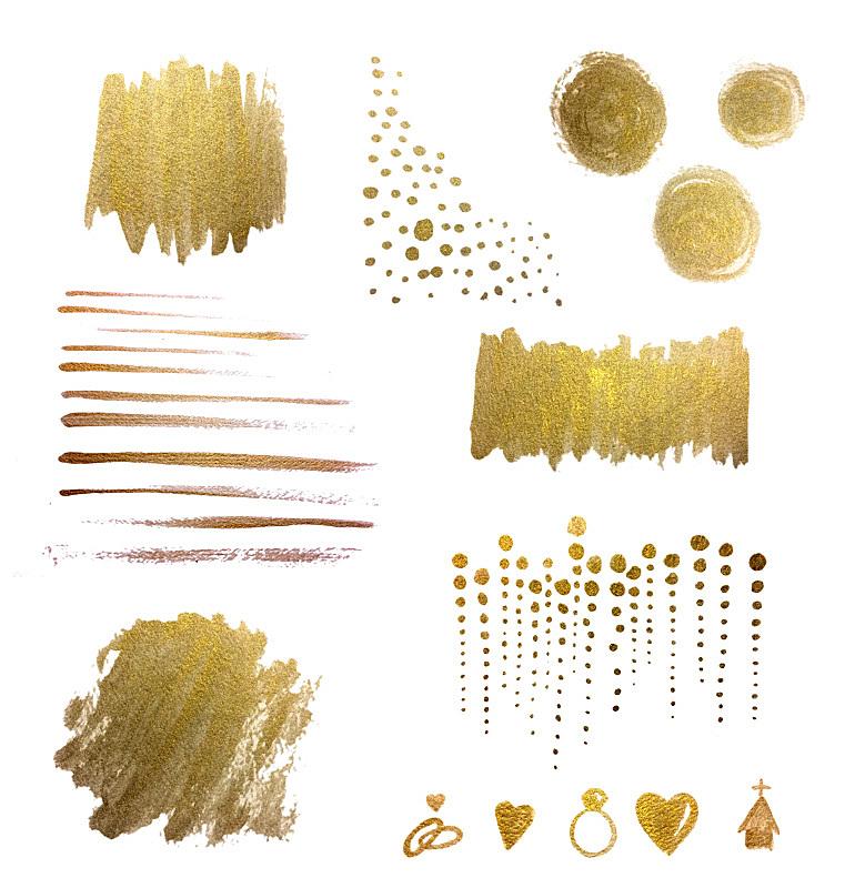 式样,黄金,笔触,金属质感,背景,化学元素周期表,水彩画,涂料,垂直画幅