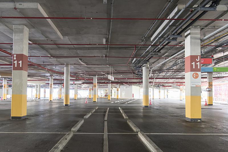 停车楼,汽车,超级市场,空的,地下的,室内,地下室,陆用车,建筑业,工业